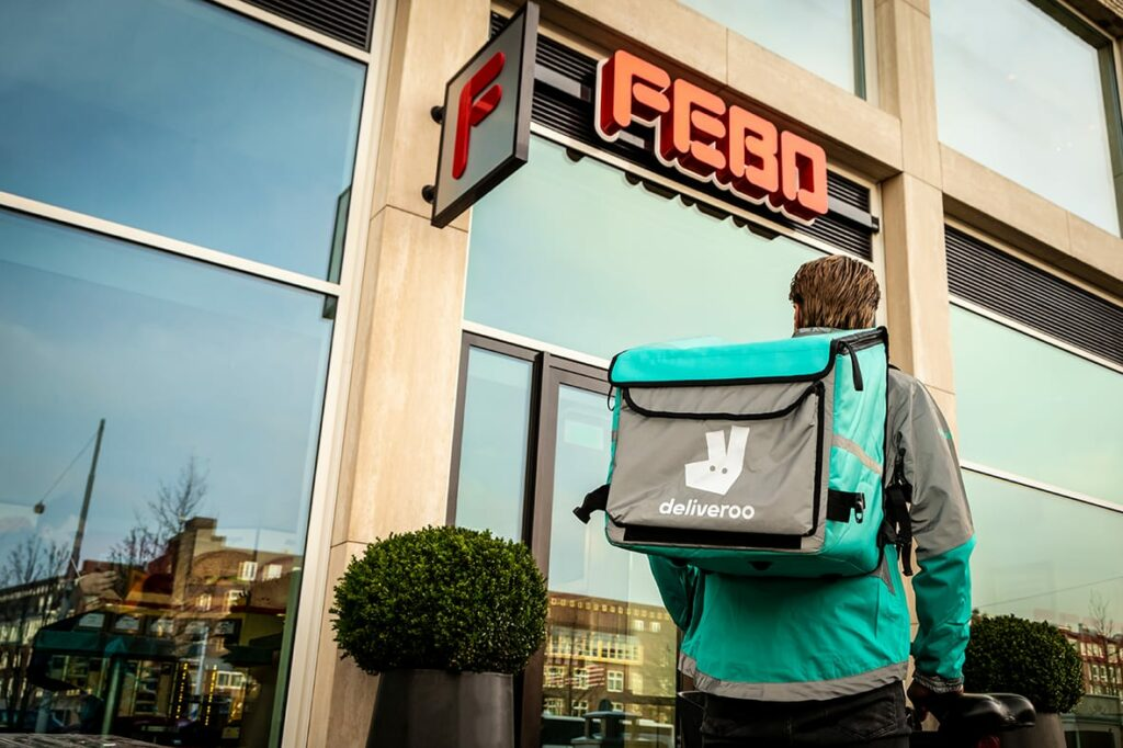 FEBO x Deliveroo
